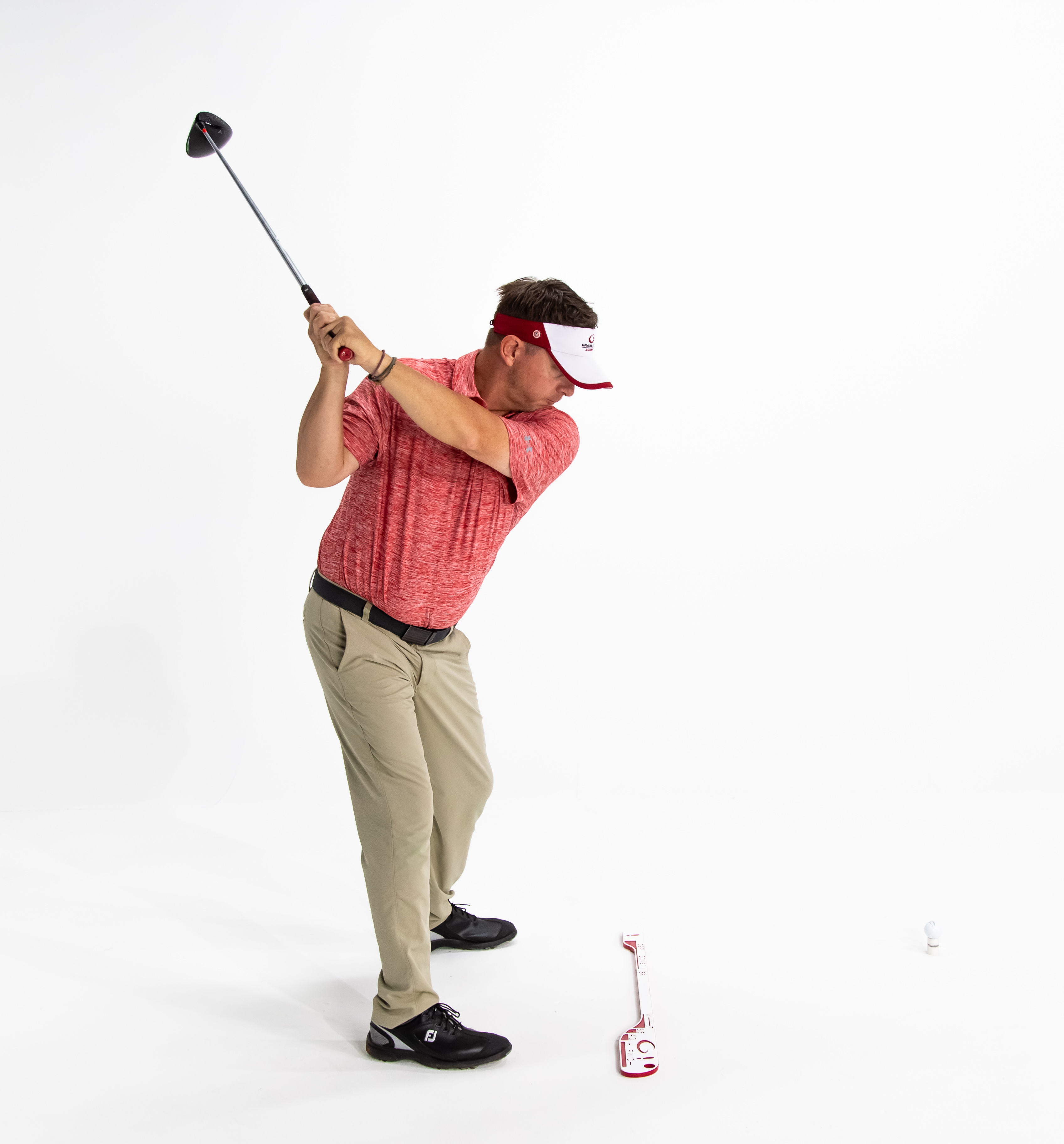 Single Plane Top of Backswing