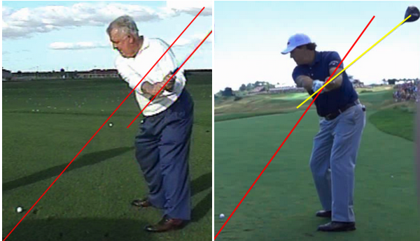 Phil Mickelson vs  The Single Plane Golf Swing (Moe Norman