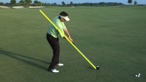 Todd Graves Golf Swing at impact