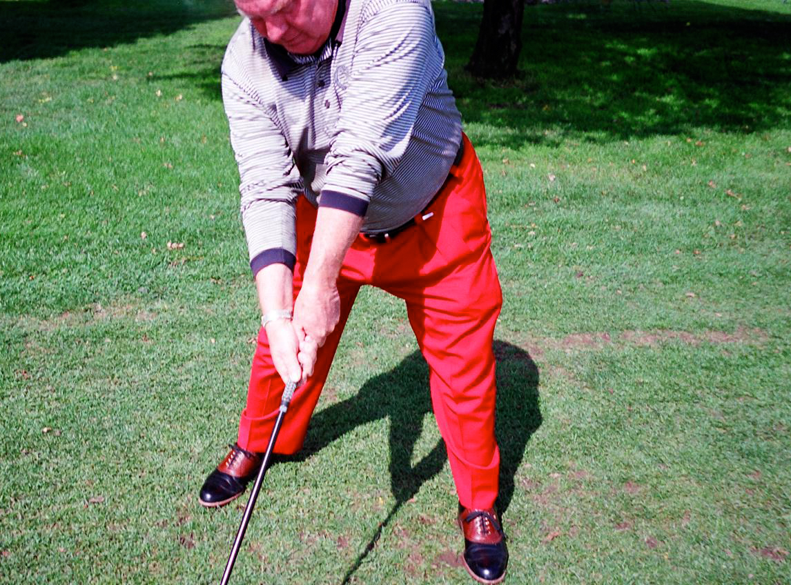 Moe Norman Single Plane Golf Swing grip image